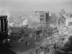 Coventry city centre following 14/15 November 1940 raid