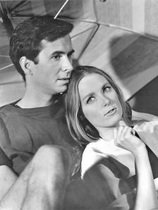With Charmian Carr in Evening Primrose, 1966