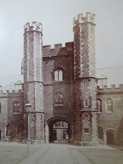 First Quad gate tower, St. John's College, Cambridge (1511-20)