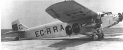 Ford 4-AT-F (EC-RRA) of the Spanish Republican Airline, L.A.P.E.