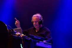 Giorgio Moroder performing in 2015