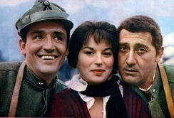 Gassman, Silvana Mangano and Alberto Sordi in The Great War (1959)