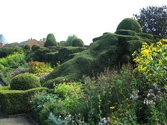 New Place Gardens,Stratford-upon-Avon