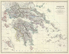 The Kingdom of Greece in 1861.