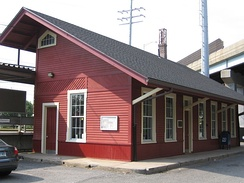 Cos Cob Railroad Station