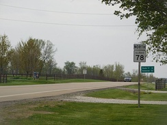 IL 78 north of Laura in Peoria County