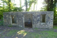 The ruin of Watt's cottage workshop at Kinneil House[24]