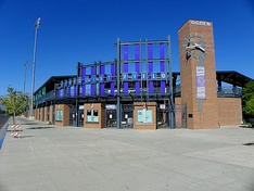 Lindquist Field, home of the Raptors