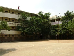 Loyola School, Chennai, India – run by the Catholic Diocese of Madras. Christian missionaries played a pivotal role in establishing modern schools in India.