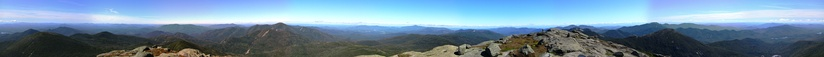 The Adirondack Mountains from the 5,344-foot (1,629-meter) summit of Mount Marcy, New York's tallest peak.