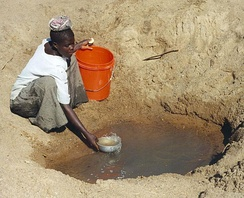 Only 61% of people in Sub-Saharan Africa have improved drinking water.