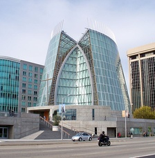 Exterior view of the Cathedral of Christ the Light