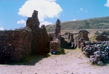 The ruins of Pikillacta, a Wari site