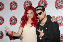 De Bono with her coach and mentor Joel Madden.