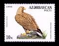Орлан-белохвост на марке Азербайджана