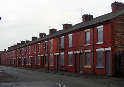 The Housing Market Renewal Initiative has identified Salford as having areas with terraced housing unsuited to modern needs.[43]
