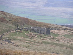 Top Withens, the ruin on the moors near Haworth that inspired Wuthering Heights