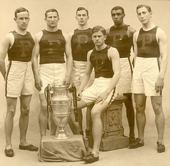 Penn's ICAA track champions in 1907