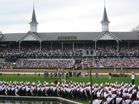 Kentucky's Churchill Downs hosts the Kentucky Derby