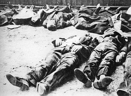Polish civilians murdered in the Wola massacre. Warsaw, August 1944