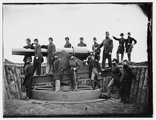 Washington, District of Columbia. Officers of 3d Regiment Massachusetts Heavy Artillery (1865)