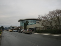 Victoria International Airport is an international airport that services the Saanich Peninsula.