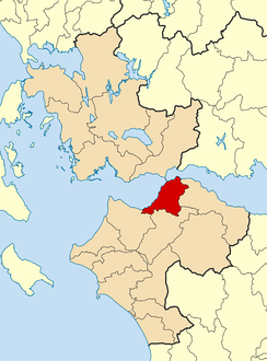 Patras municipality within the region of Western Greece.