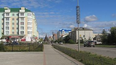 Нарьян-Мар, улица Ленина, 2014-й год