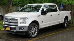The 2017 model year F-150