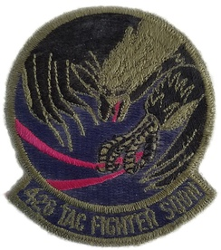 Patch worn by 426th TFTS during the early 1980's