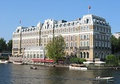 Amstel Hotel seen from the River Amstel