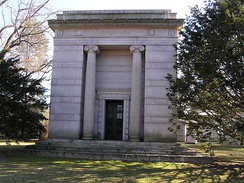 The mausoleum of Augustus. D. Juilliard in Woodlawn Cemetery