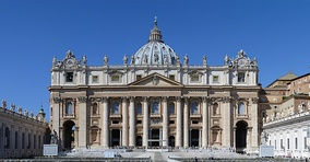 Facade of St. Peter's Basilica (early 17th century)