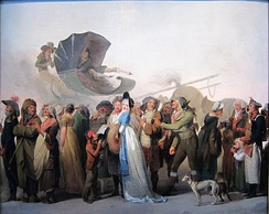 Boilly, Incroyable parade