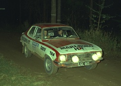 1974 ARC winners Colin Bond and George Shepheard in the HDT Torana GTR XU-1 at the Warana Rally, round five of the 1974 Australian Rally Championship.