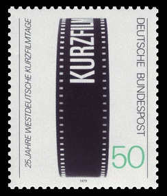 German stamp commemorating the festival's 25th anniversary (1979)