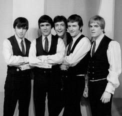 The Dave Clark Five appearing on The Ed Sullivan Show in 1966