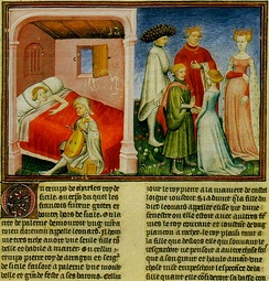 The introduction of the Decameron (1350–1353) by Giovanni Boccaccio.