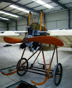 Original 1911 Deperdussin monoplane from the Shuttleworth Collection