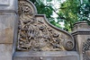 Details of the stairway on west side of Bethesda Terrace Bridge, Central Park.jpg