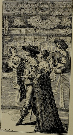 People who shop for pleasure are known as recreational shoppers. The recreational shopper has its origins in the grand European shopping arcades. Pictured: The gentry in a Dutch lace shop in the 17th century