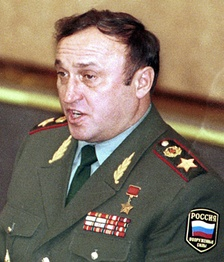 Hero of the Soviet Union Army General Pavel Grachev