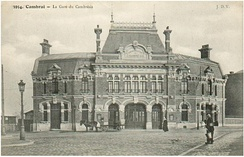 The Gare du Cambrésis, former head of the line of the Chemin de Fer du Cambrésis