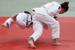 Throw during competition, leads to an ippon