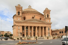 The Rotunda of Mosta, which was built between 1833 and 1860