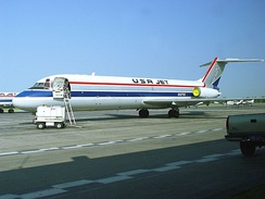 DC-9-33F, USA Jet Airlines