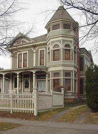 1619 Pine Street was used for the external shots of Mindy's house on the TV show Mork & Mindy.