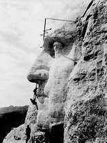 Mount Rushmore (Six Grandfathers) before construction, circa 1905