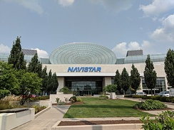 Navistar International headquarters building in Lisle, IL.