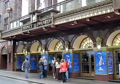 Prince Edward Theatre in 2005